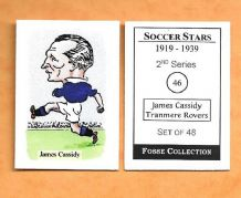 Tranmere Rovers James Cassidy 46 (FC)